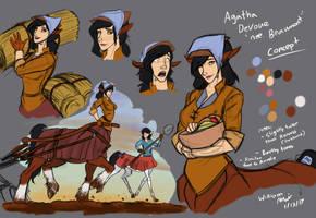 Agatha Devoue by WMDiscovery93