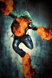 Fire Dance by dumbelek
