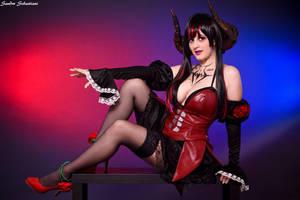 Eliza the vampire by DianaBlack