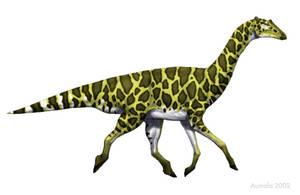 A Hadrosaurian Giraffe by Osmatar