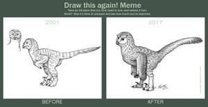 Draw This Again: Owlosaur by Osmatar