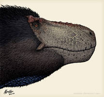 Male Tyrannosaurus rex 2.0 by Osmatar