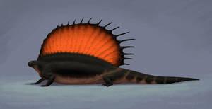 A Quick Edaphosaurus by Osmatar