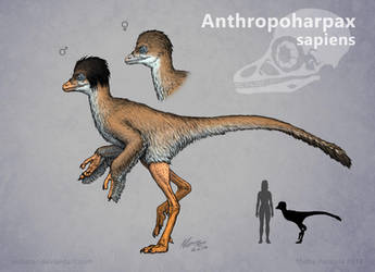 Dinosauroid Returns by Osmatar