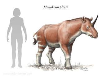 Monokeros, Pliny's Unicorn by Osmatar