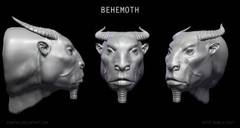 Alien Behemoth by Osmatar