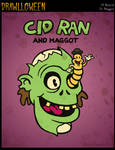 Drawlloween: Rancid + Maggot by Osmatar