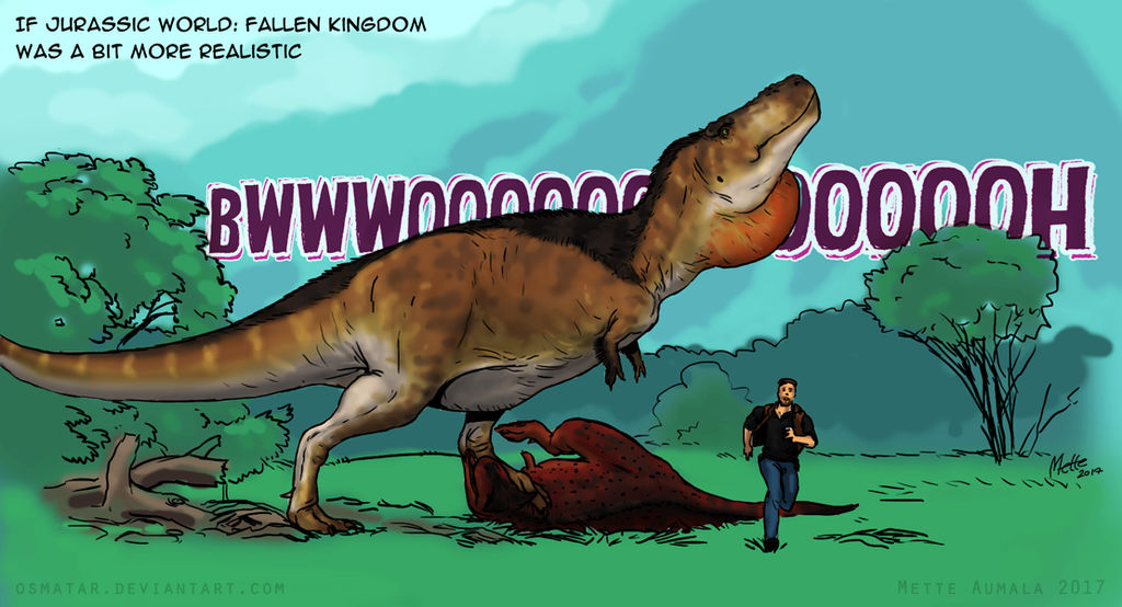 Real Archosaurs Boom by Osmatar