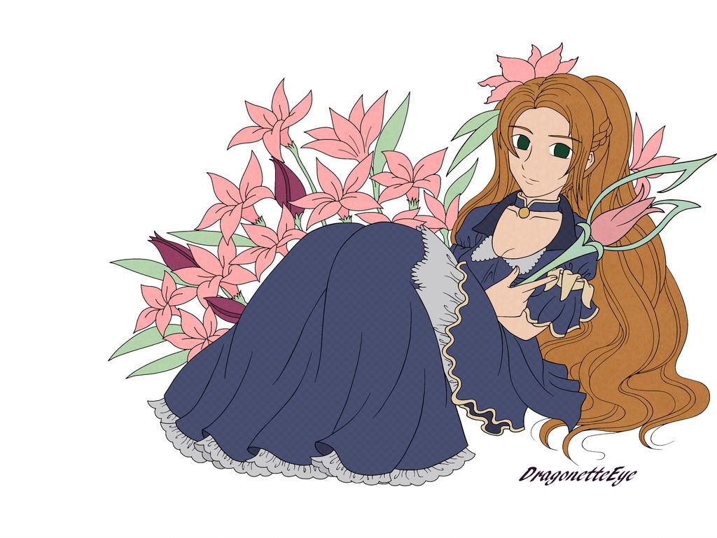 Flower Queen by DragonetteEye