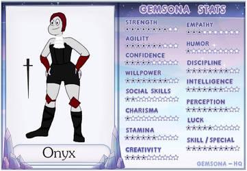 Onyx Stats by DragonetteEye