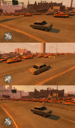 GTA IV Taxi Swarm by Nohomers48