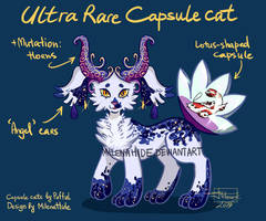 Ultra Rare Capsule cat |Auction OPEN| by MilenaHide