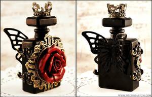Gothic Rosarium Perfume Bottle 1 by Necrosarium