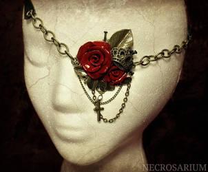 Visual Rose Eyepatch 3 by Necrosarium