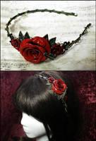 Rosarium Headband 6 by Necrosarium