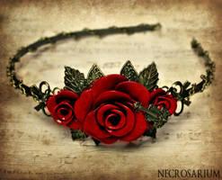 Rosarium Headband 13 by Necrosarium