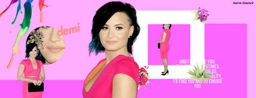 +Demi Lovato Cover Work by LollypopGomez