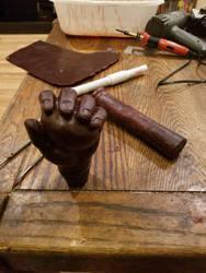 Hawk the slayer mind sword WIP 2 by HellfireForge