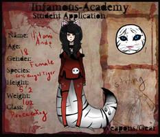 IA: Hitomi Ando by Lolalilacs