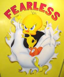 Fearless Tweety by Garv101
