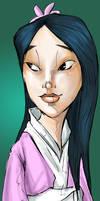 Mulan by Baygel