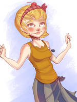 Custard Cupcake by Baygel