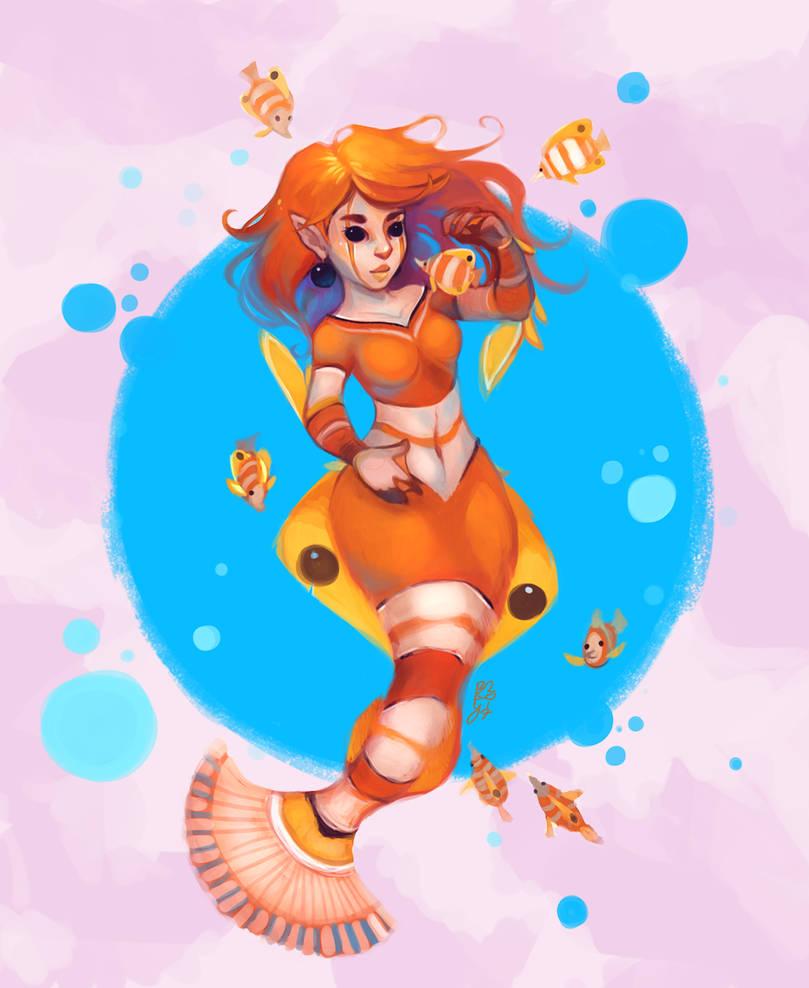 Mermaid by Baygel