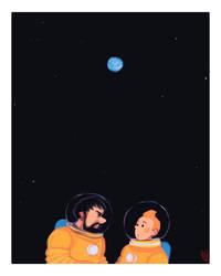 On a marche sur la Lune by Baygel