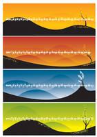 4 Season celender design by Rei-pash