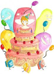 Birthday Cake! by RadicalKoji