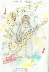 [365 Chalenge] [2-Jan] Music is Colorful. by RadicalKoji