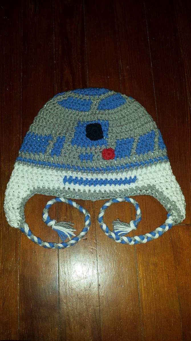R2d2 Crochet Beanie By Laceyrachel On Deviantart