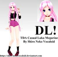 TDA Casual Luka Megurine [DOWNLOAD] by Shiro-NekoVocaloid