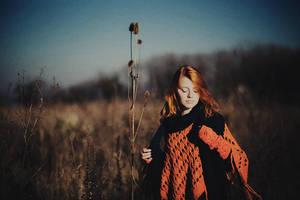 red hair by eugene-kukulka