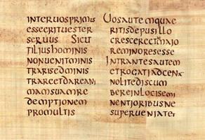 Codex Claromontanus - Saint Matthieu by Errance