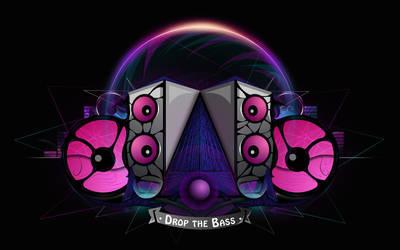 Drop the Bass by MitSuGayaGFX