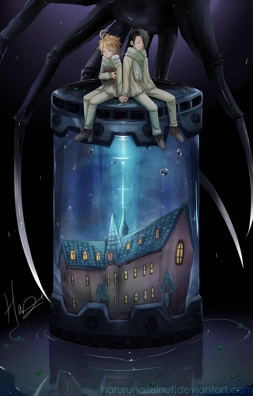 The Promised Neverland By Haruruhazelnut On Deviantart