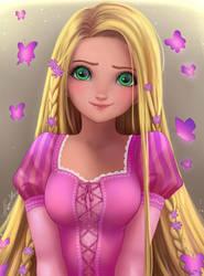 Rapunzel by HaruruHazelnut