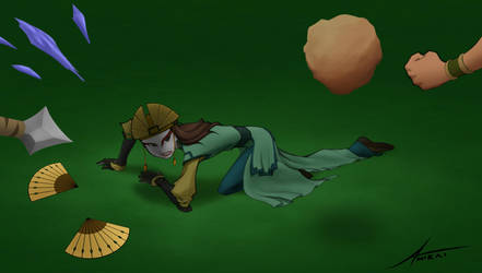 Commission - Kyoshi defeated (1 of 2) by Amirai