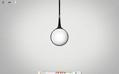 Minimal Unix Desktop by unlimitdaydream