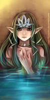 Water elf by kuraiaku