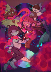 Deltarune by Vickie4423