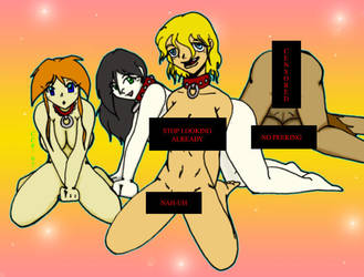 Censored Slave Girls by CrazyCowProductions