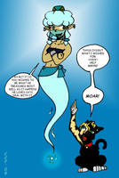 The Evil Genie 1 by CrazyCowProductions