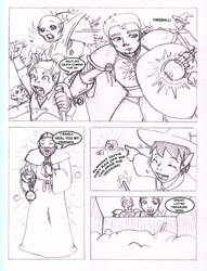 Pathfinder Comic Page 1 of 4 by CrazyCowProductions