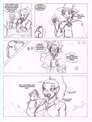 Pathfinder Comic Page 2 of 4 by CrazyCowProductions