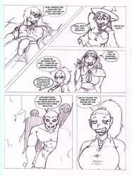 Pathfinder Comic Page 3 of 4 by CrazyCowProductions
