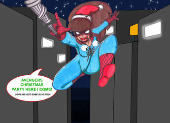 Christmas Spider by CrazyCowProductions