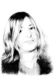 Portrait Ink (2) by Planetekrilin
