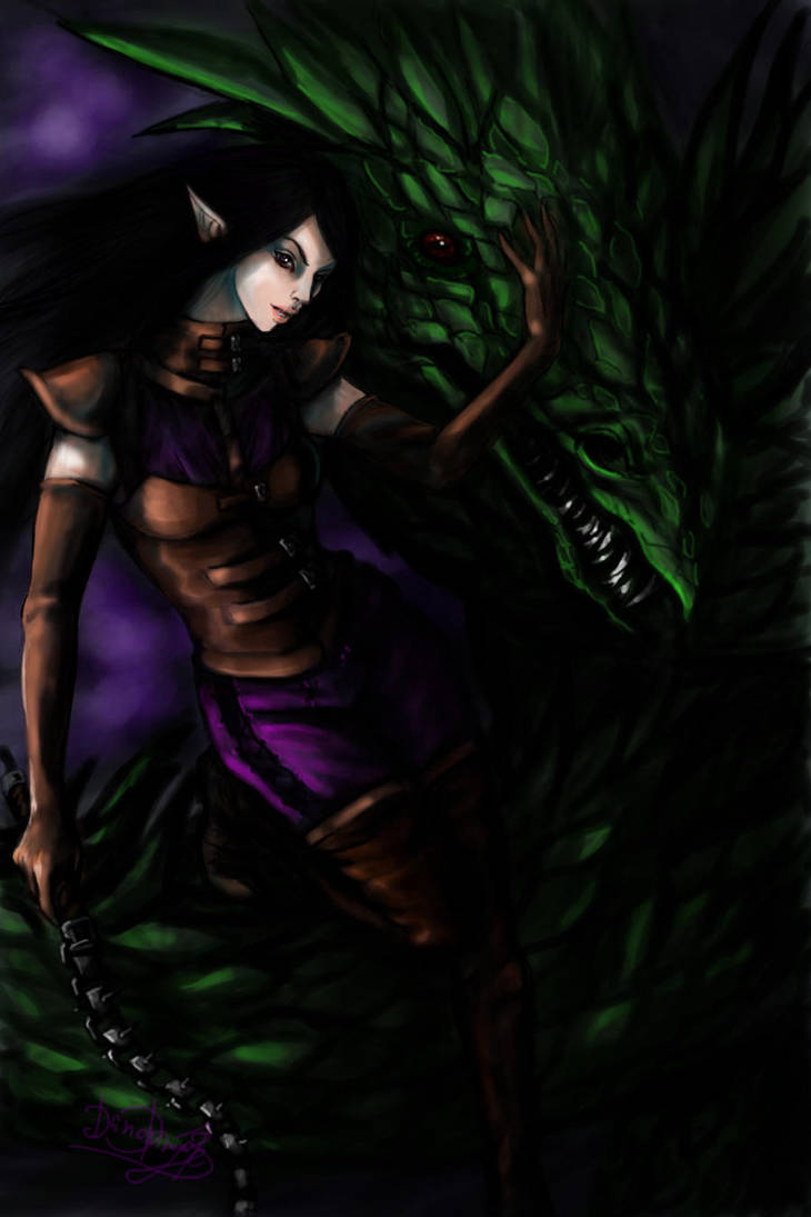 Beastmistress by DarionDamage